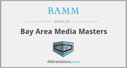 BAMM - Bay Area Media Masters