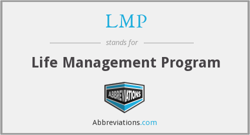 LMP - Life Management Program