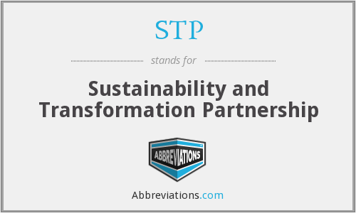 STP - Sustainability and Transformation Partnership