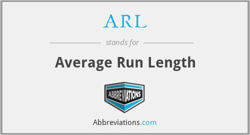 ARL - Average Run Length