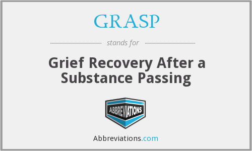 GRASP - Grief Recovery After a Substance Passing