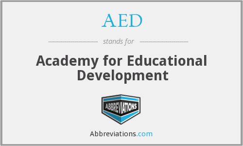 AED - Academy for Educational Development