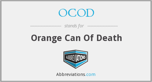 What does OCOD stand for?