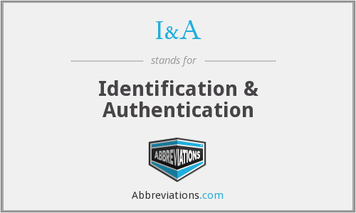 What does identification stand for?