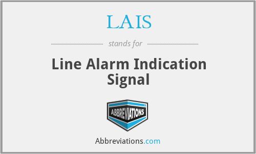 LAIS - Line Alarm Indication Signal