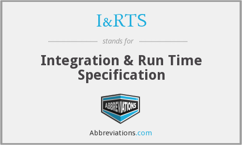 What does integration stand for?