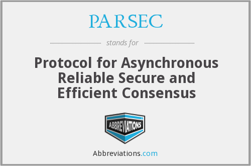 What does PARSEC stand for?
