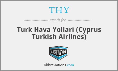 THY - Turk Hava Yollari (Cyprus Turkish Airlines)