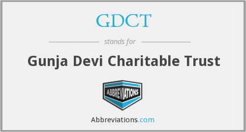 What does GDCT stand for?