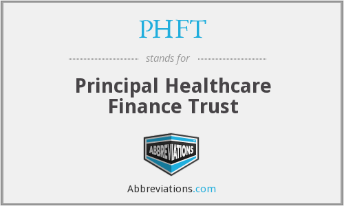 What does PHFT stand for?