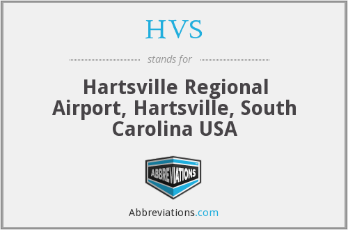 HVS - Hartsville Regional Airport, Hartsville, South Carolina USA