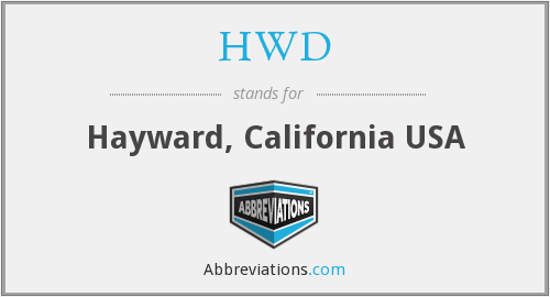 HWD - Hayward, California USA