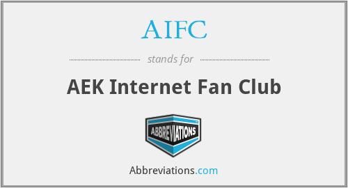 AIFC - AEK Internet Fan Club