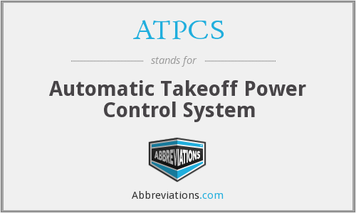 What does ATPCS stand for?