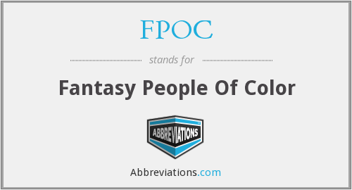 FPOC - Fantasy People Of Color