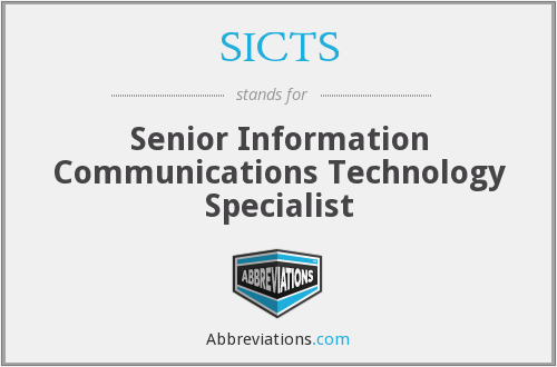 What does SICTS stand for?