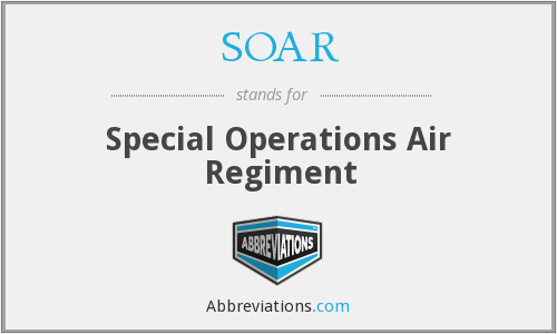 SOAR - Special Operations Air Regiment