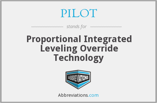 PILOT - Proportional Integrated Leveling Override Technology