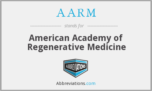 What does AARM stand for?