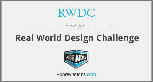 RWDC - Real World Design Challenge