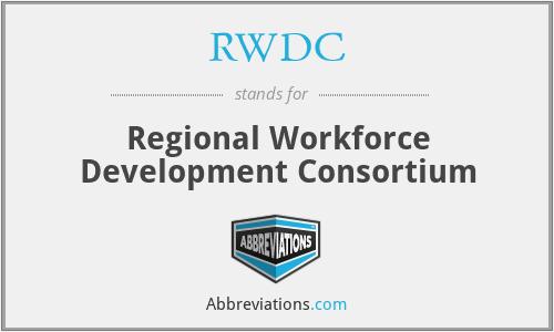 RWDC - Regional Workforce Development Consortium