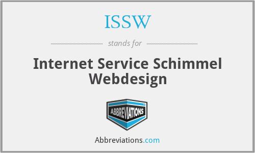 ISSW - Internet Service Schimmel Webdesign