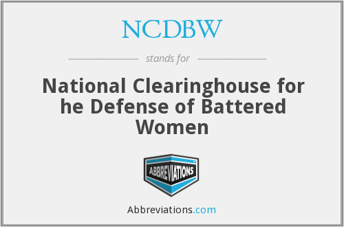 national clearinghouse for the defense of battered women
