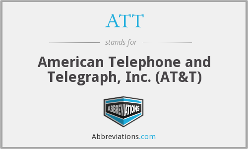 ATT - American Telephone and Telegraph, Inc. (AT&T)