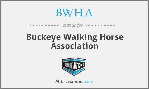 BWHA - Buckeye Walking Horse Association