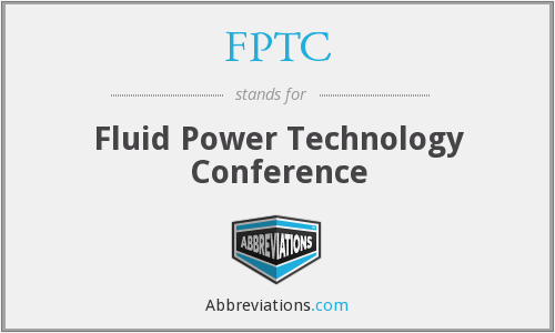 FPTC - Fluid Power Technology Conference