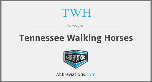TWH - Tennessee Walking Horses