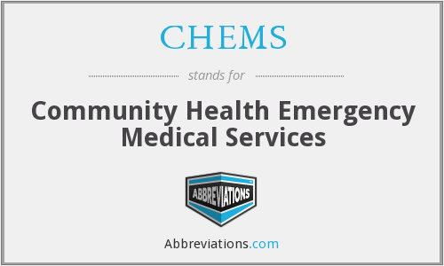 What does CHEMS stand for?