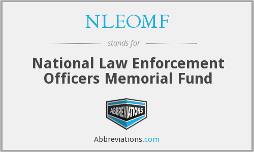 What does NLEOMF stand for?
