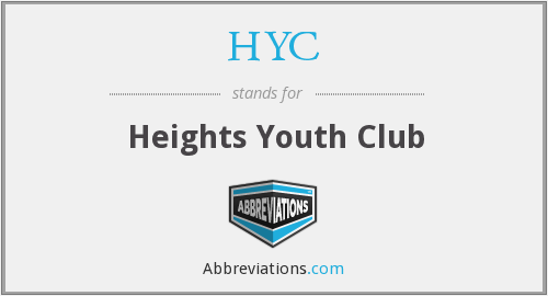 HYC - Heights Youth Club