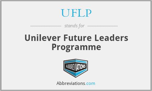 UFLP - Unilever Future Leaders Programme