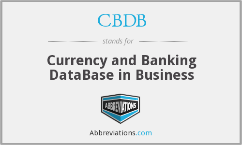 What does CBDB stand for?