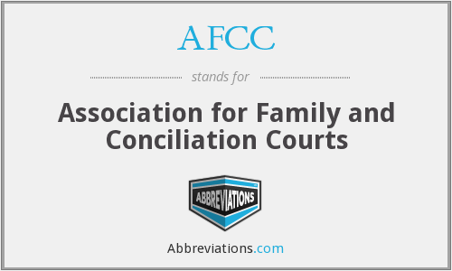 AFCC - Association for Family and Conciliation Courts