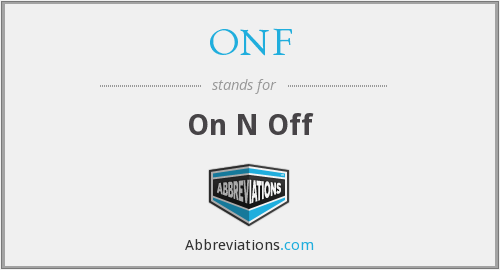 ONF - On N Off