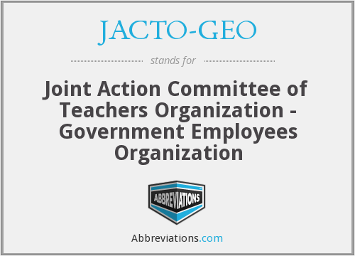 What does JACTO-GEO stand for?