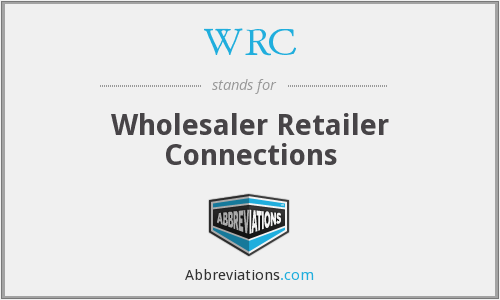 WRC - Wholesaler Retailer Connections