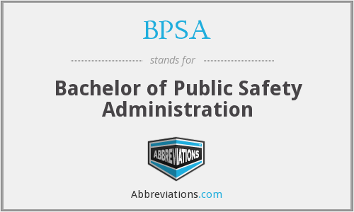 What does BPSA stand for?