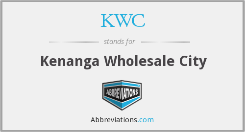 KWC - Kenanga Wholesale City