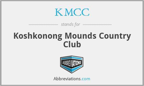 KMCC - Koshkonong Mounds Country Club