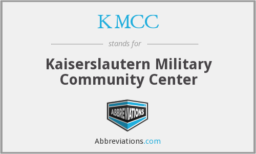 What does KMCC stand for?
