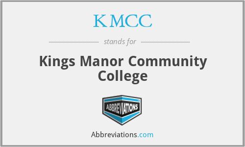KMCC - Kings Manor Community College