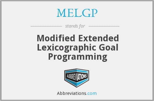 What does MELGP stand for?