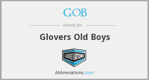 GOB - Glovers Old Boys