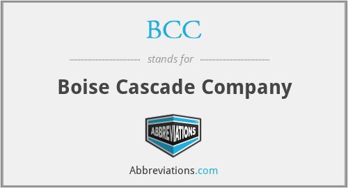 BCC - Boise Cascade Company