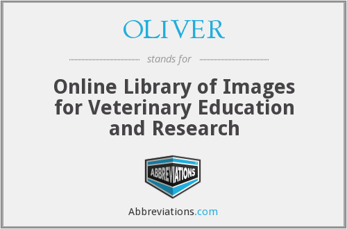 OLIVER - Online Library of Images for Veterinary Education and Research