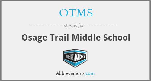 OTMS - Osage Trail Middle School